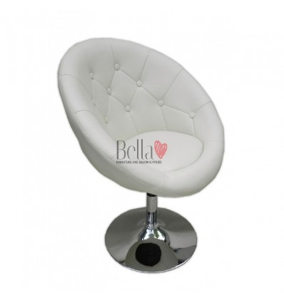 Bellafurniture Cream Salon Chair BFHC8516. Cream Chair for hairdressers and beauty salon. Stylish beauty salon chairs.