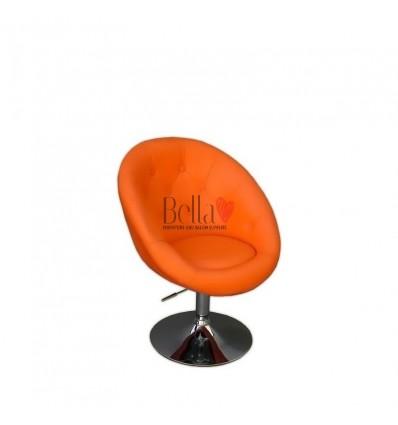 Bellafurniture Orange Salon Chair BFHC8516. Orange Chair for hairdressers and beauty salon. Stylish beauty salon chairs.