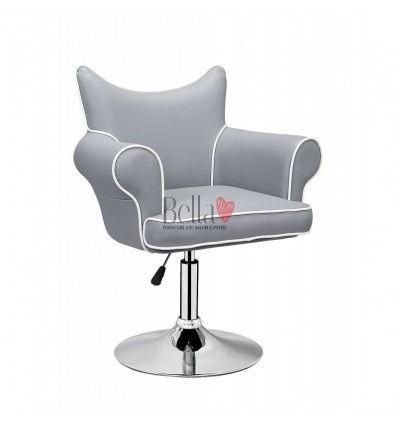 Modern chair for beauty salon. Modern chair for hairdresser. Modern chair for nail salon. Chair Black BFHC332
