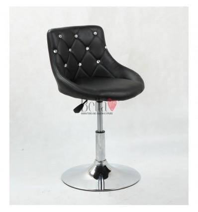 Chair for beauty salon. Chair for hairdresser. Chair for nail salon. Chair Black BFHC931N
