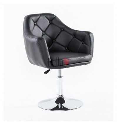 Elegant black chairs for beauty salons. Elegant Black chair BFHC831