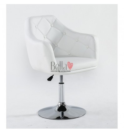 Elegant white chairs for beauty salons. Elegant White chair BFHC831