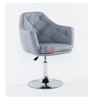 Elegant grey chairs for beauty salons. Elegant Grey chair BFHC831