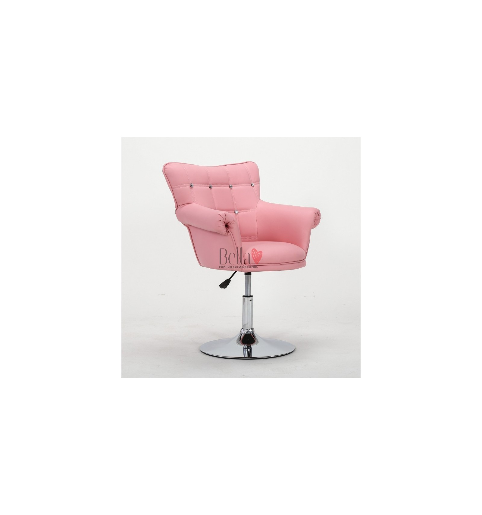Pink Chair For Beauty Salon Ireland Nail Black