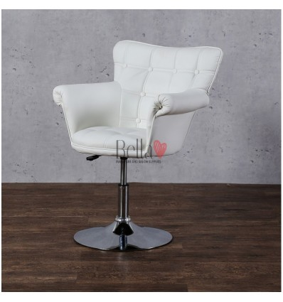White chair for beauty salon ireland. White chair for nail salon Ireland. Chair White BFHC804