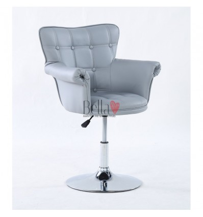Grey chair for beauty salon ireland. Grey chair for nail salon Ireland. Chair Grey BFHC804
