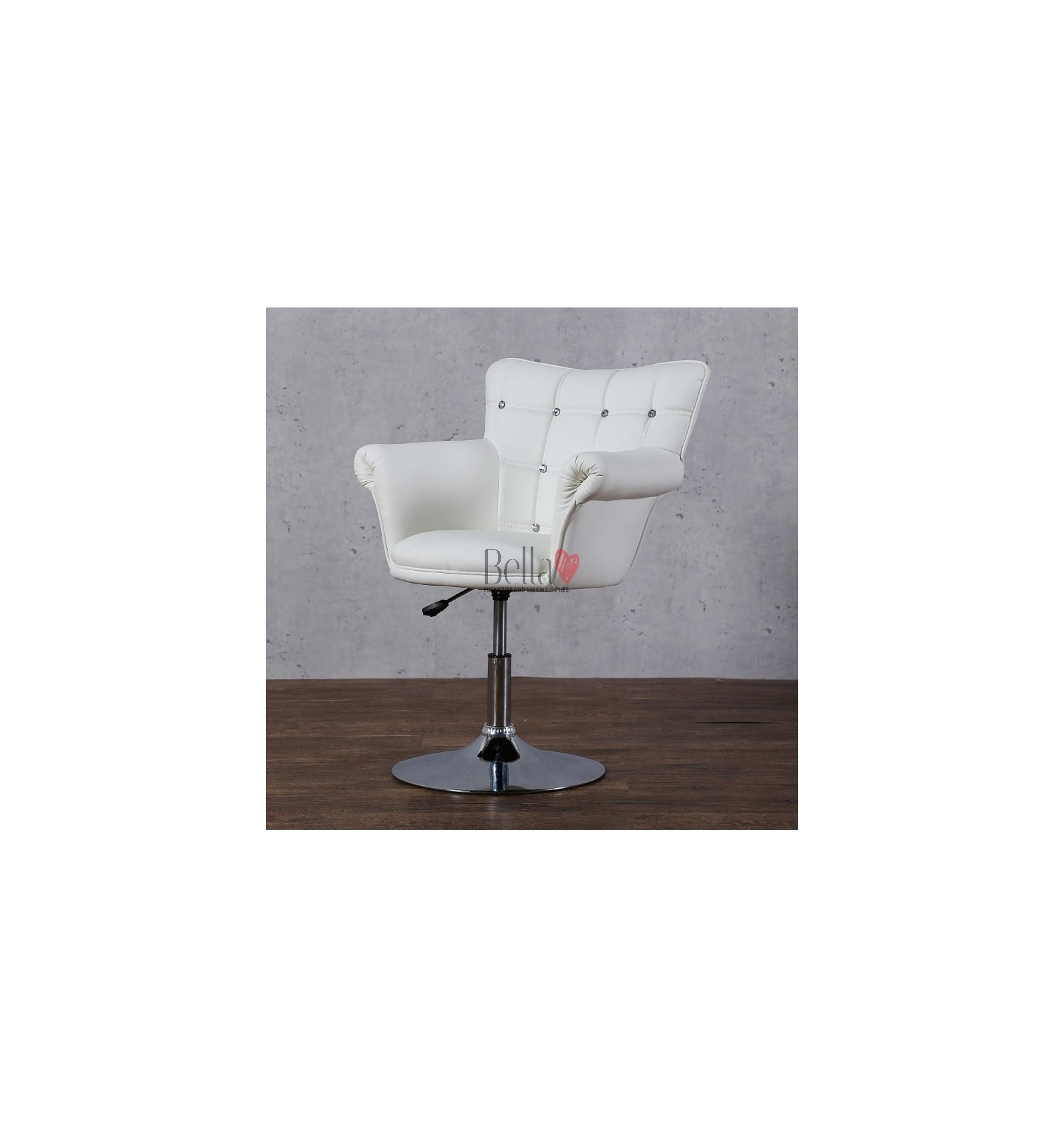 Swivel Salon Chairs White Beauty Hairdresser