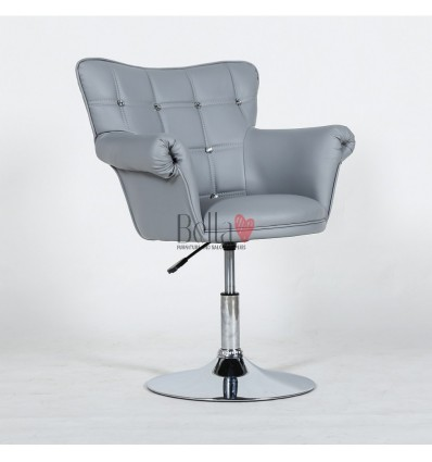Swivel salon chairs. Grey Swivel beauty chairs. Grey Swivel hairdresser chairs