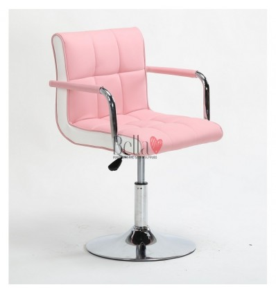 Vibrant pink Beauty room or Salon chair. Bella Furniture Chair pink BFHC811N