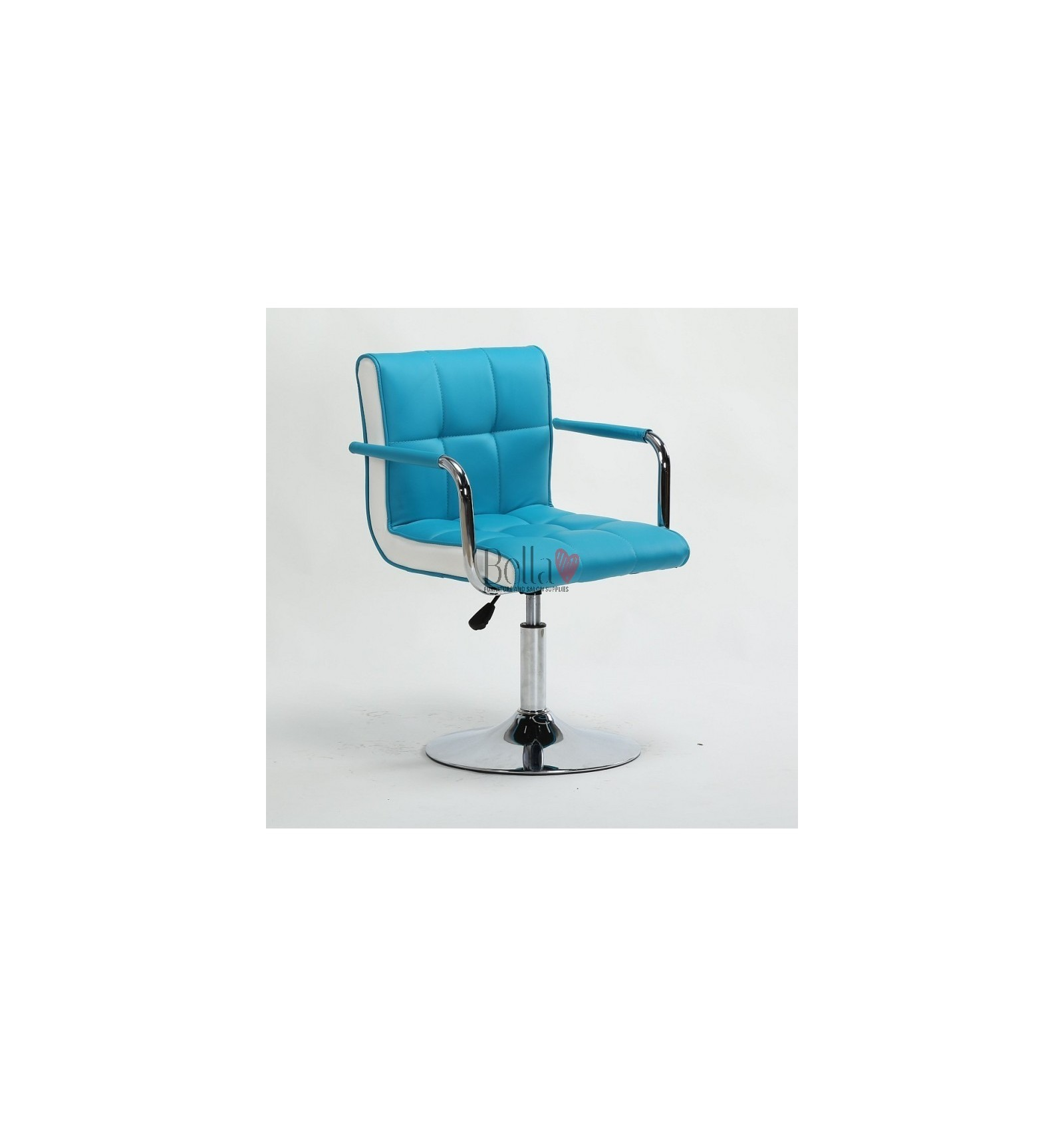 1928ed2e5 Vibrant Turquoise Beauty room or Salon chair. Glam chair for beauty ...