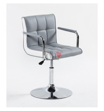 Vibrant grey Beauty room or Salon chair. Bella Furniture Chair grey BFHC811N