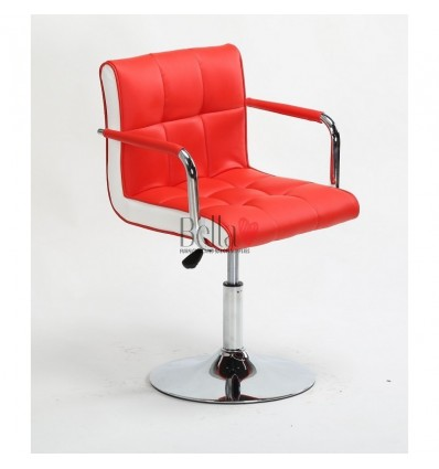 Vibrant red Beauty room or Salon chair. Bella Furniture Chair red BFHC811N
