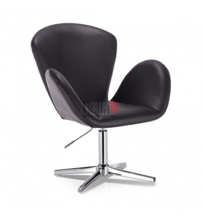 Designer style chairs for beauty salon. Designer style chairs for nail salon and hairdresser. Bella Chair Black BFHC222