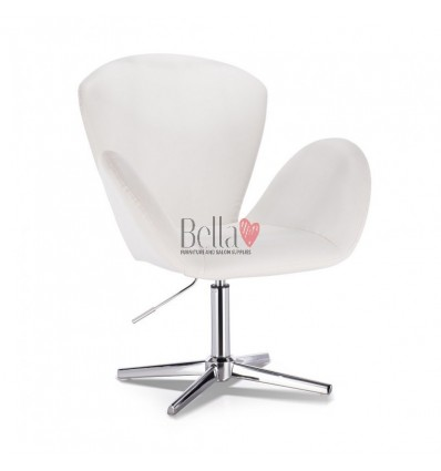 Designer style chairs for beauty salon. Designer style chairs for nail salon and hairdresser. Bella Chair White BFHC222