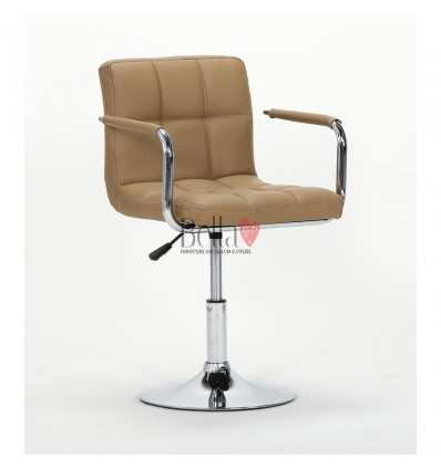 Elegant black salon chairs. bella furniture Chair Caramel BFHC8325N