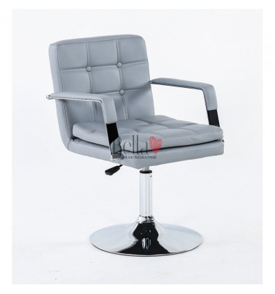 bella furniture salon chairs. beautiful Chair grey BFHC730