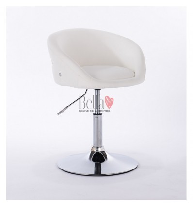 bella furniture salon chairs for hairdressers. Chair white BFHC701N