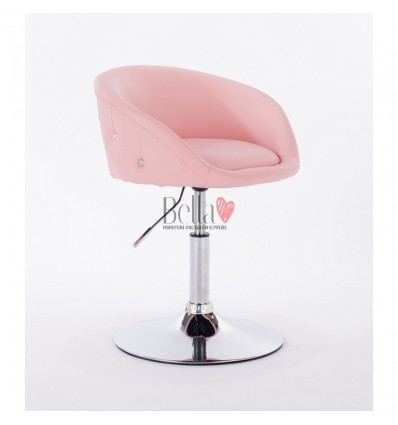 bella furniture salon chairs for hairdressers. Chair Pink BFHC701N