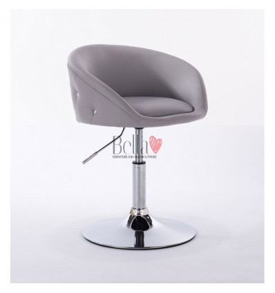 bella furniture salon chairs for hairdressers. Chair grey BFHC701N