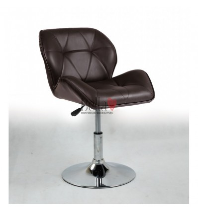 luxury salon Chair Chocolate colour BFHC111N