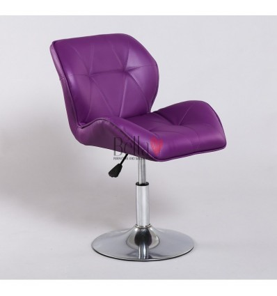 Luxury Elegant And Stylish Purple Chairs For Beauty And