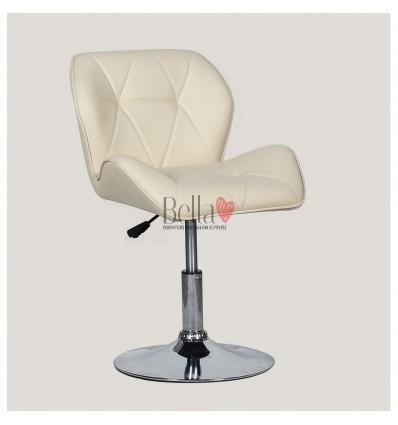 Luxury salon Chair Cream BFHC111N
