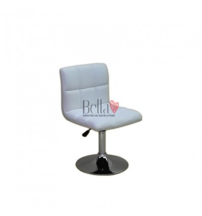 Beautiful & elegant chairs for beauty salon Ireland. Bella Furniture Ireland White Chair BFHC8052N
