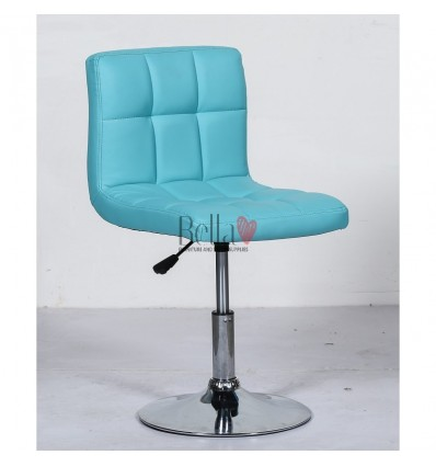 Beautiful & elegant turquoise chairs for beauty salon Ireland. Bella Furniture Ireland Chair BFHC8052N