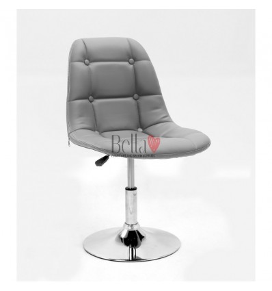 Grey Swivel Chairs for beauty salons. Beautiful grey swivel chairs Ireland. Bella furniture Ireland Grey Chair BFHC1801N