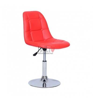 Red Swivel Chairs for beauty salons. Beautiful Red swivel chairs Ireland. Bella furniture Ireland Red Chair BFHC1801N