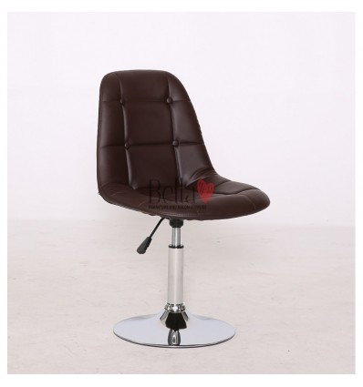 Brown Swivel Chairs for beauty salons. Beautiful brown swivel chairs Ireland. Bella furniture Ireland Brown chair BFHC1801N