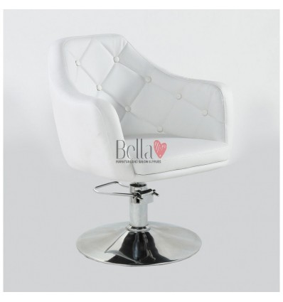 Bella Furniture hydraulic white chairs for sale Ireland BFHC831H
