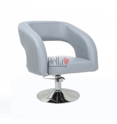 Grey Hydraulic chairs for sale Ireland. Hydraulic grey Chairs for beauty salons
