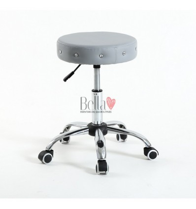 Grey Stools for beauty salon. Stools for nail salon. Stool Grey BFHC1102C