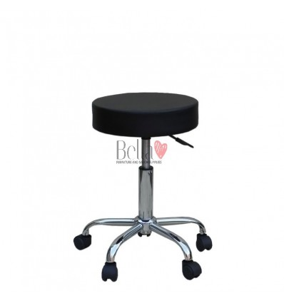 Black Stools for sale Ireland. Salon Stool Black BFHC1102