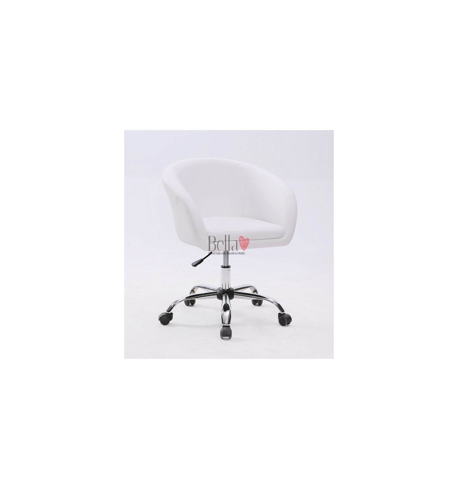 White Salon Chairs On Wheels For Ireland Chair Hc8326k