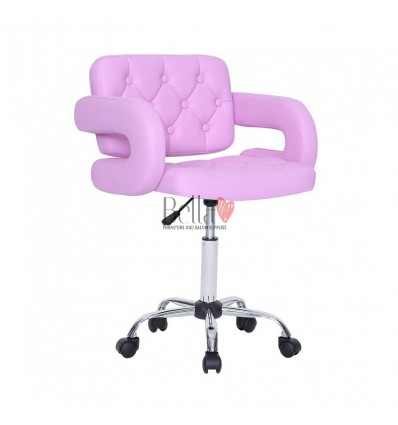 Bella Furniture Lavender chairs on wheels in Ireland. Stylish lavender Chairs on wheels bella furniture