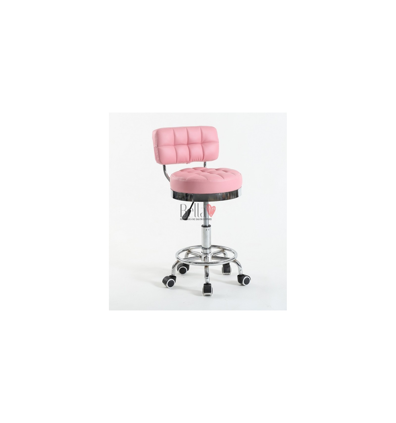 Bella Furniture Pink Chairs On Wheels In Ireland Hairdresser For Hc636