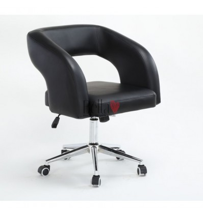 Black beauty chair for sale. Chair on wheels Black BFHC801K