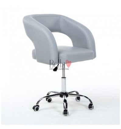 Chair on wheels Grey BFHC801K