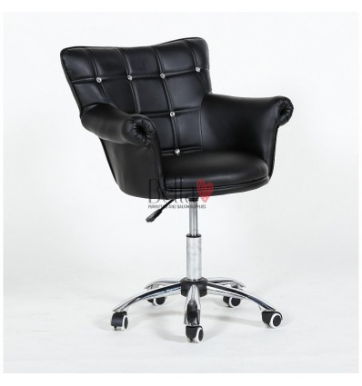 Stylish Hairdresser chairs for sale. Stylish chairs for beauty salons. Black BFHC804CK