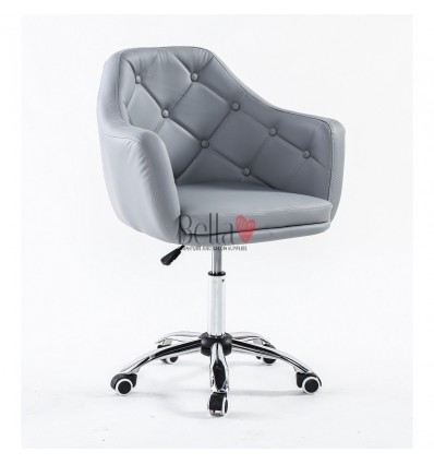 Chair on wheels Grey BFHC831K
