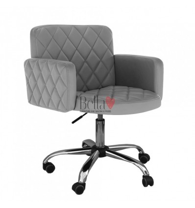 Nail salon, Beauty salon and Hairdresser chairs for sale Ireland. grey BFHC8020K