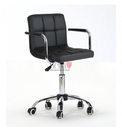 Black Nail salon, Beauty salon and Hairdresser chairs for sale Ireland BFHC8325K