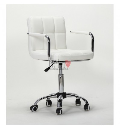 white Chairs for Nail salon, Beauty salon and Hairdresser Ireland White BFHC8325K