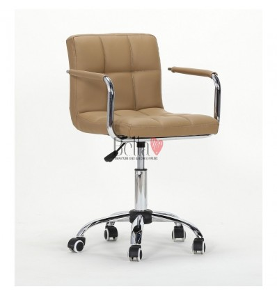 Caramel Chairs for Nail salon, Beauty salon and Hairdresser Ireland BFHC8325K