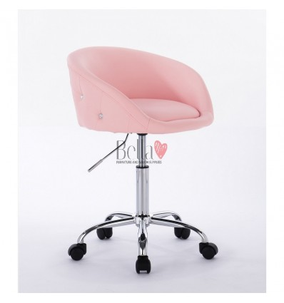 Chair on wheels Pink BFHC701K