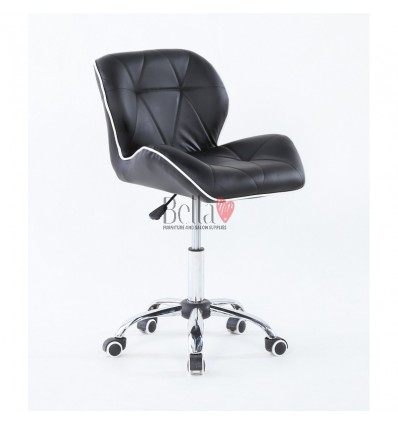 Luxury, elegant and stylish black chairs for beauty and nail salons black BFHC1062K