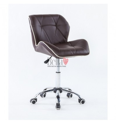 Luxury, elegant and stylish brown chairs for beauty and nail salons Brown BFHC1062K