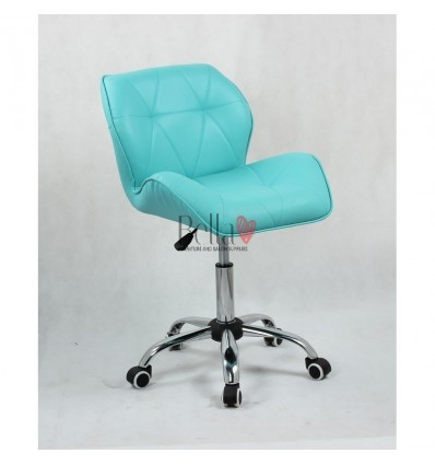 Elegant and stylish turquoise chairs for beauty salons and nail salons BFHC111K